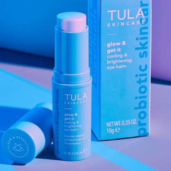 NWOT Tula Glow & Get It cooling eye balm